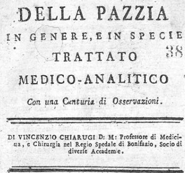 Della Pazzia 1793 Vol. 1